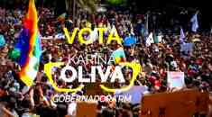 Karina Oliva a Gobernadora